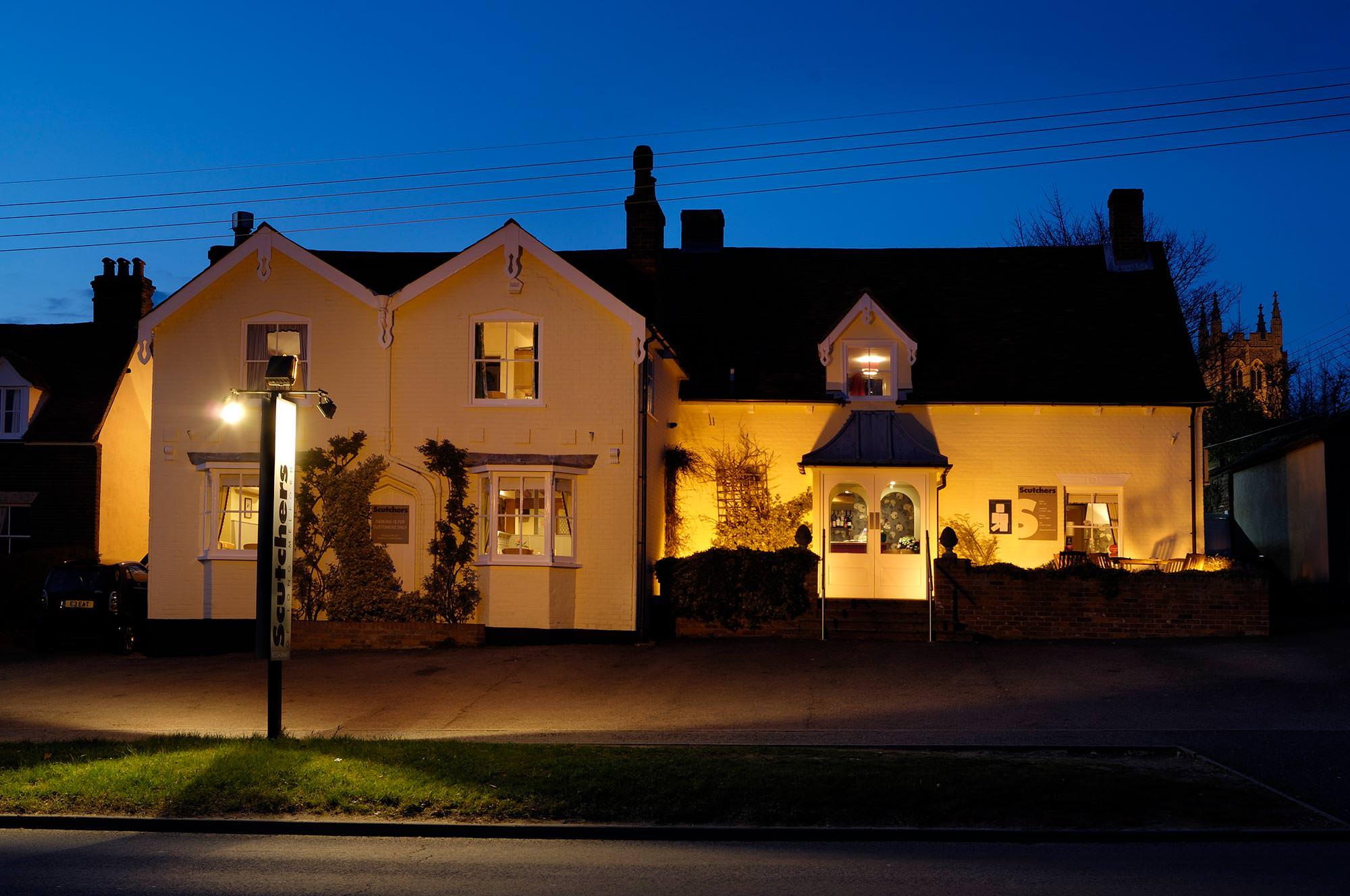 Scutchers Restaurant Long Melford